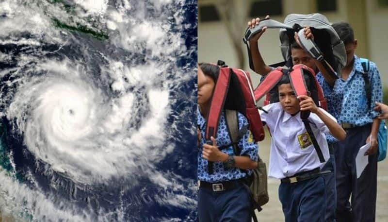 West Bengal Government announces holiday for school in 7 districts for cyclone Bulbul