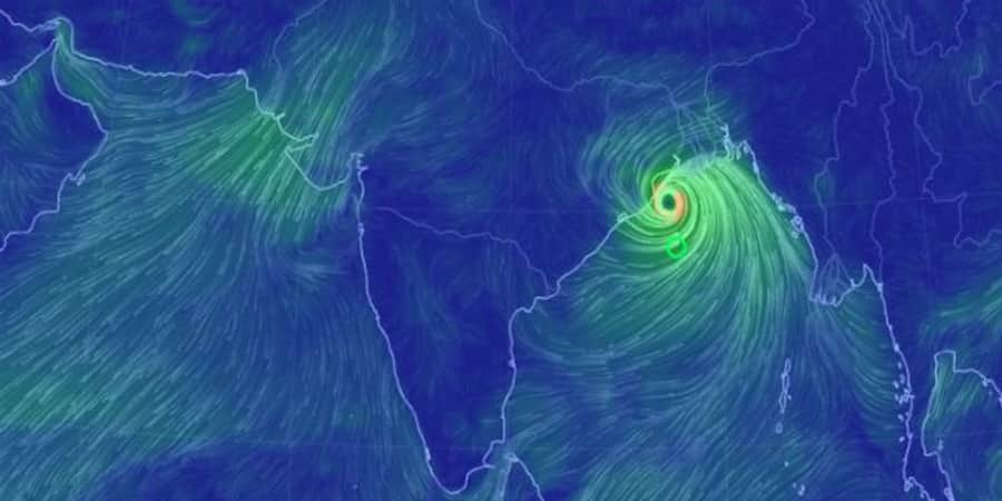 Get the Live Update on Cyclone Bulbul
