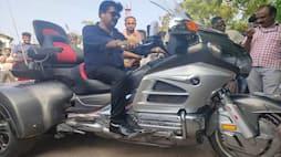 ಹೊಂಡಾ ಗೋಲ್ಡ್ ವಿಂಗ್ ಟ್ರೈಕರ್ ಬೈಕ್ ಆಮದು ಮಾಡಿದ ಕೇರಳದ ಬಾಬು ಜಾನ್