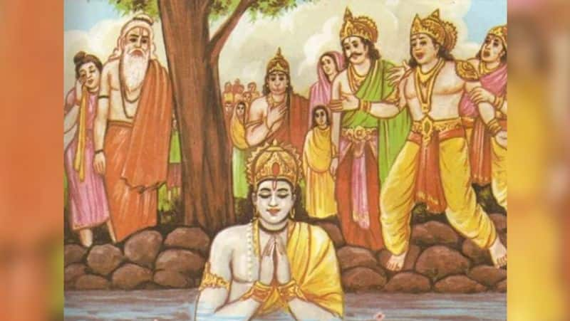 Mythological connection between lord rama and hampi place