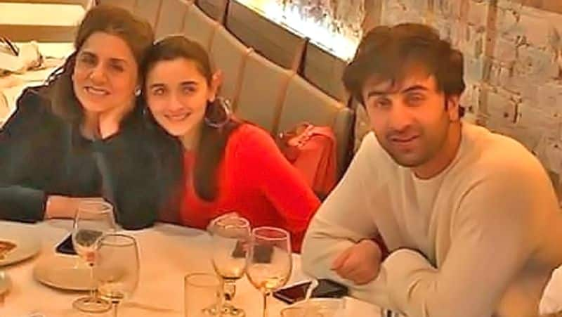 "<p><strong>Family people</strong></p>  <p style=""text-align: justify;"">Alia and Ranbir makes sure to spend quality time with each other's family. They are one of those couples who love to indulge in family dinners and have a gala time.</p>"