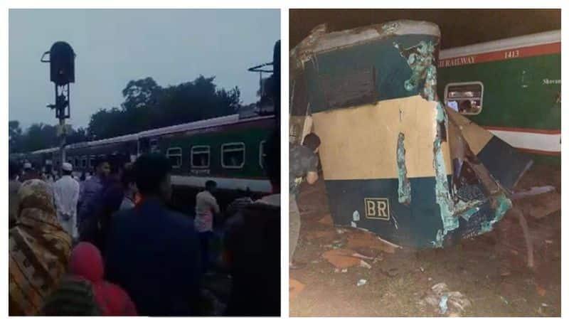 Train accident in Bangladesh kills atleast fifteen