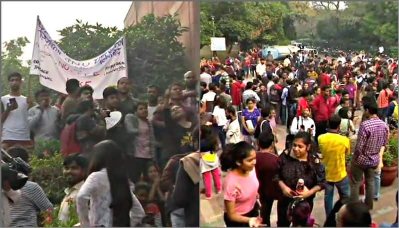 JNU students refuse to end protest, administration announces partial roll-back in fee hike
