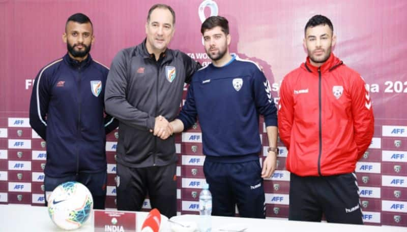 Indian team wants to win against Afghanistan at FIFA World Cup Qualifier