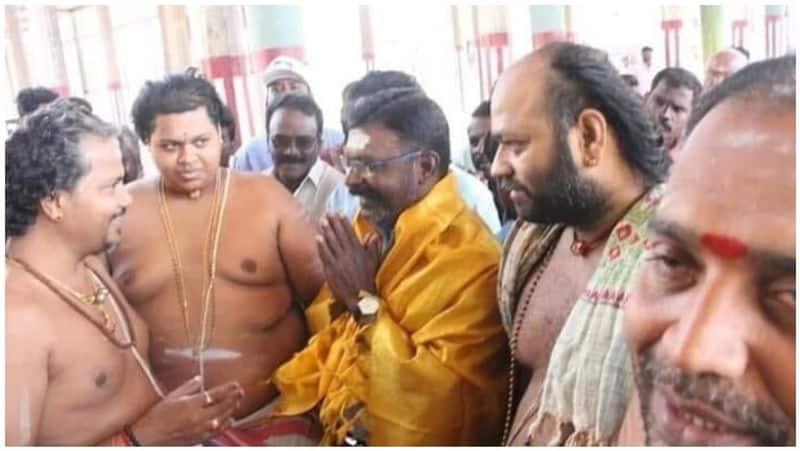 thirumavalavan came to visit the ugly toys