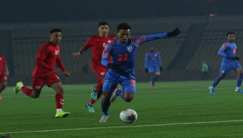Injury time goal of Doungel gives India one point against Afghanistan