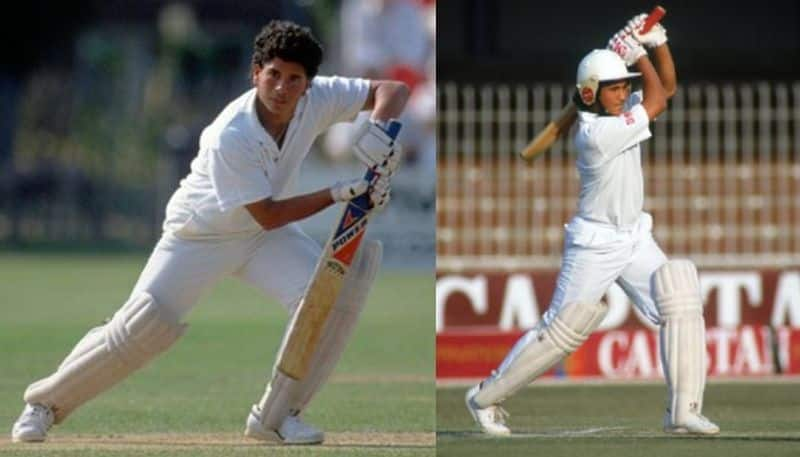 Sachin bats at indoor to celibate the day of his test debut