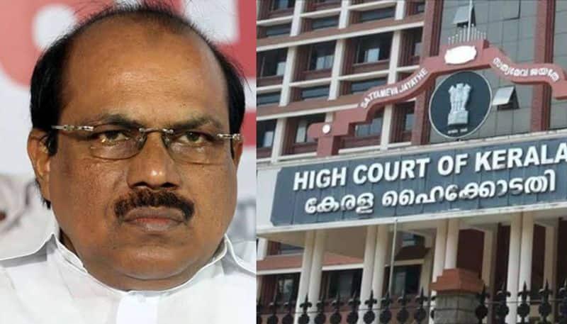 high court against vk ebrahim kunju