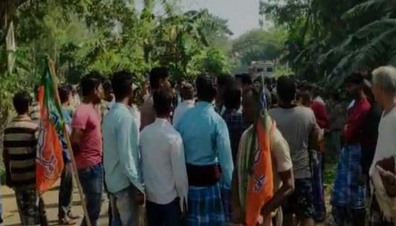 Hanging body of a BJP worker found at Dantan in West Midnapore