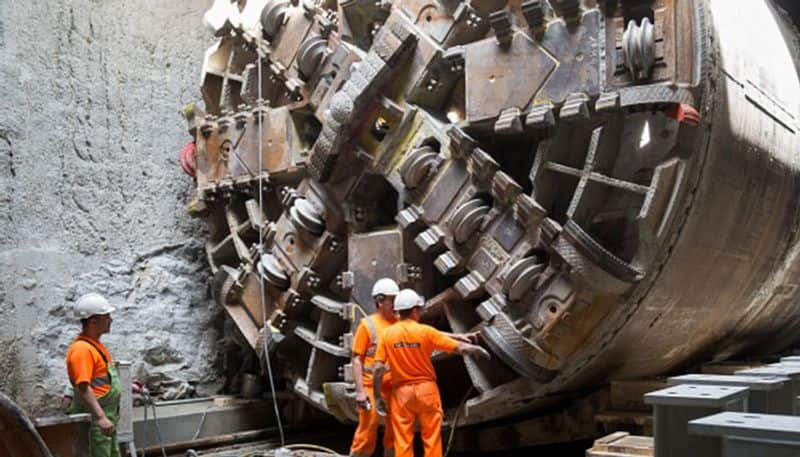 Materials from austria and usa for east west metro rail arrives in kolkata RT