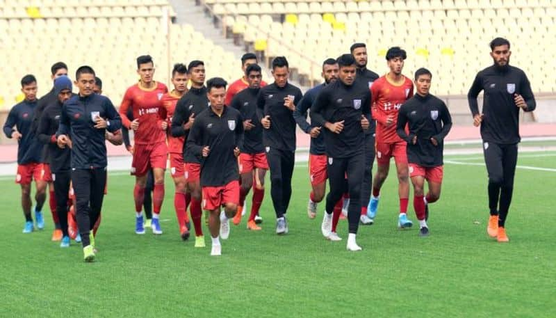Indian Ambassador wishes Indian football team for the match against Oman