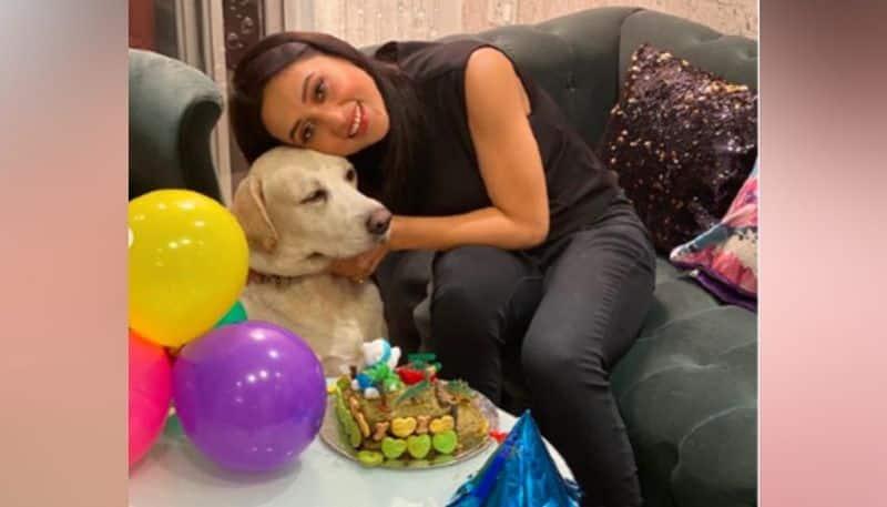 Mimi Chakraborty celebrate her pets Birthday