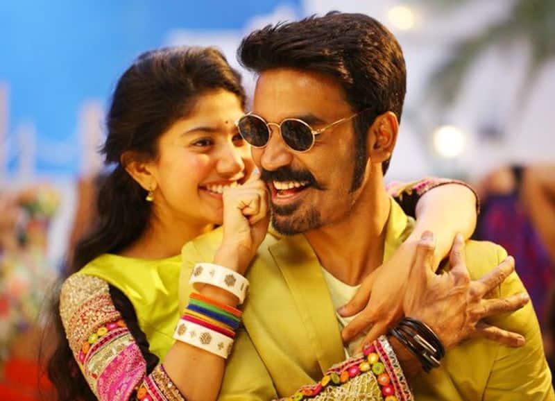 Marri 2 Movie Dhanush and Sai Pallavi Rowdy Baby Song Hit 700 Million Views