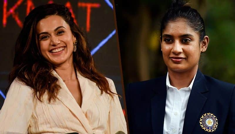 Tapsee Pannu play the role of Indian women's cricket team captain Mithali Raj
