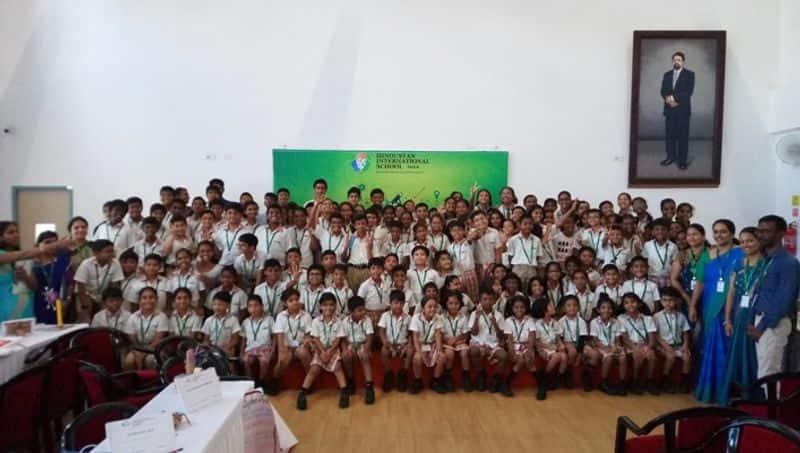 Hindustan International School Padur Spectacular Exhibition For Creative Minds