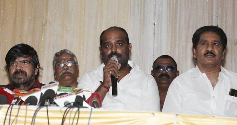 director t.rajendar press meet