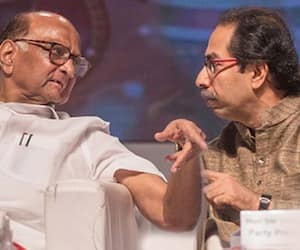 Uddhav Thackeray Meets Sharad Pawar At Midnight Over Maharashtra Government Formation