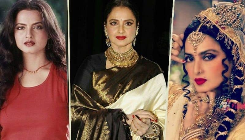 Bollywood actress Rekha was involved many people in her personal life