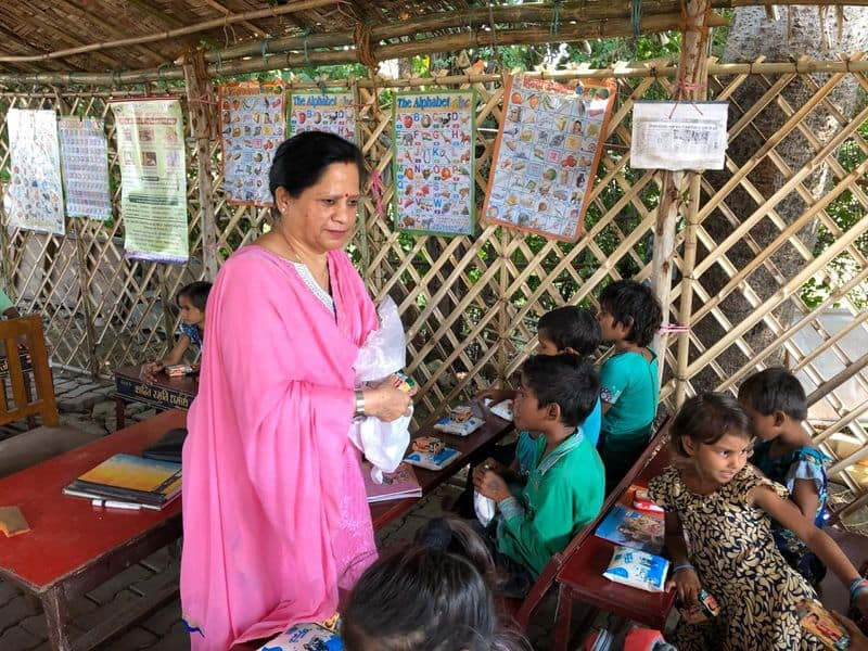 lost their son in to a crash now they provide free schooling for kids from slum