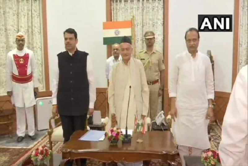 Shiv Sena's broken dreams, BJP formed government in Maharashtra with Ajit Pawar