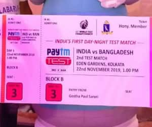 CAB refunding the money of Day four and five of Pink Ball Test at Eden Gardens