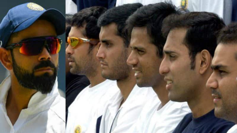 rahul dravid is the first indian batsman hit century in pink ball not virat kohli
