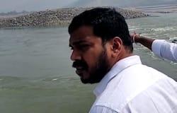 <p>AP Irrigation Minister Anil Kumar Yadav Visits Polavaram</p>