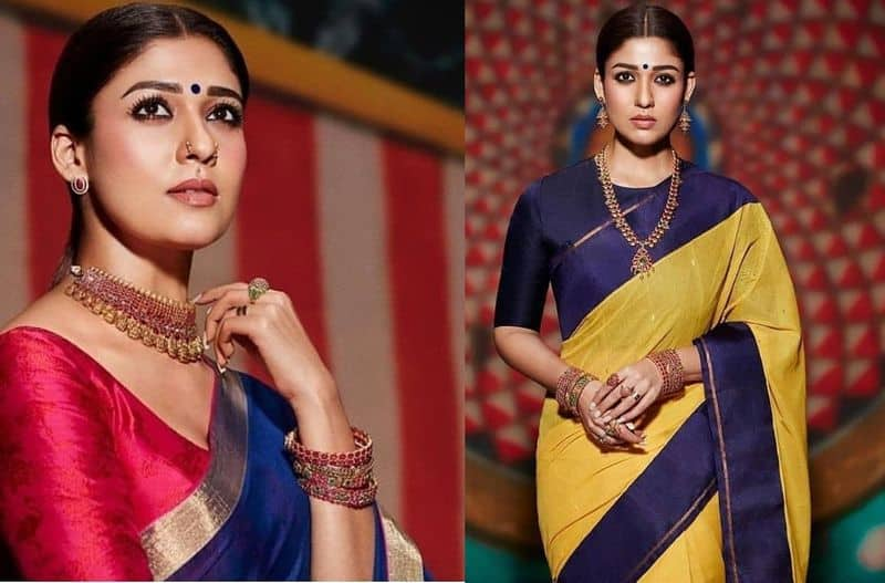 Lady Super Star Nayanthara Jewellery Ad Photo Shoot Going Viral In Social Media
