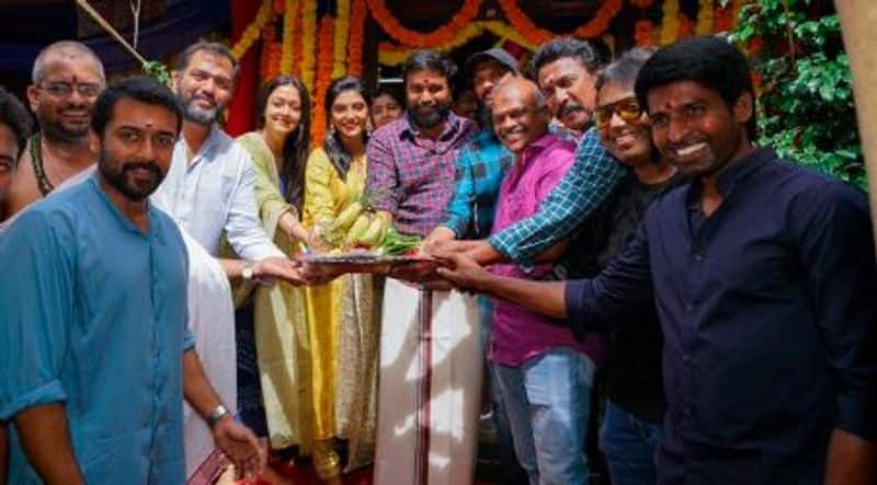 surya 12 production movie pooja done today