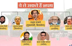 Two leaders each from Shiv Sena, NCP and Congress to be ministers in government, will take oath today