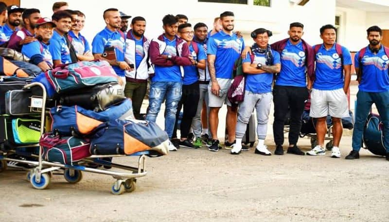 Mohun Bagan reaches Aizawl for their opening game of I league against Aizawl FC