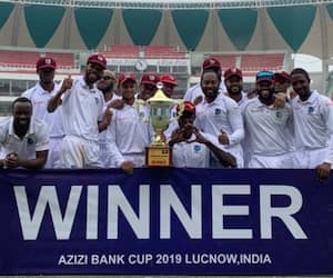 West Indies won test match against Afghanistan at India prior to India Series