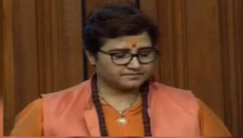 sadhvi Pragya apologizes for Godse remarks in Parliament