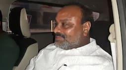 Former minister Achennayudu met with an Accident