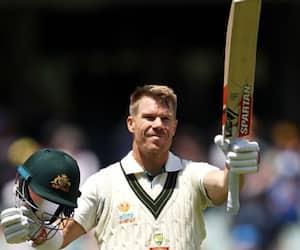 David Warner scored 250 runs in Day Night Test against Pakistan at Adelaide