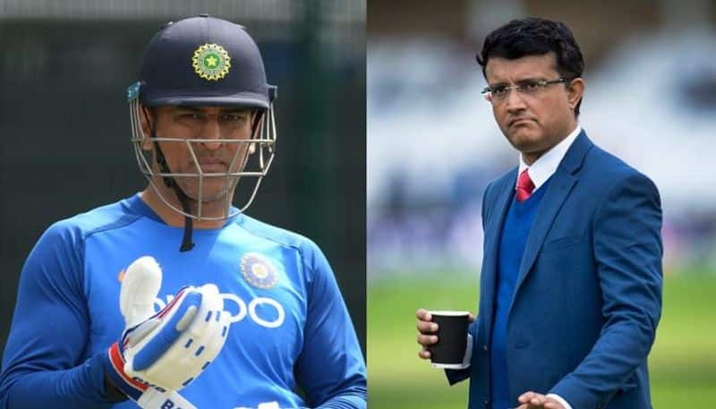There is absolute clarity on Dhoni says Board president Sourav Ganguly