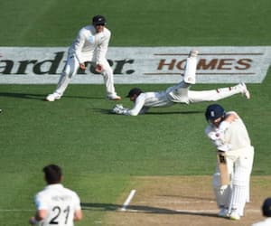 England in backfoot on Second day of Second Test against Newzeland