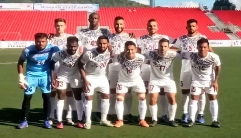 Mohun Bagna starts their I League journey with a draw at Aizawl