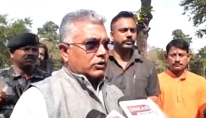 Dilip Ghosh slams Mamata Banerjee on state Vandalism issue