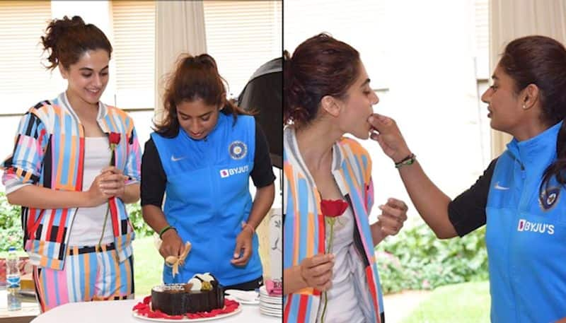 Taapsee Pannu to essay role of Mithali Raj; celebrates Indian captain's 37th birthday