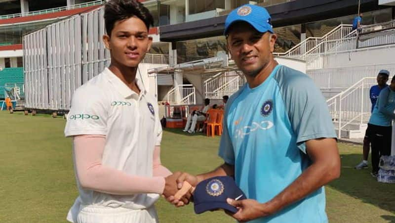yashasvi jaiswal selected in indian team for under 19 world cup