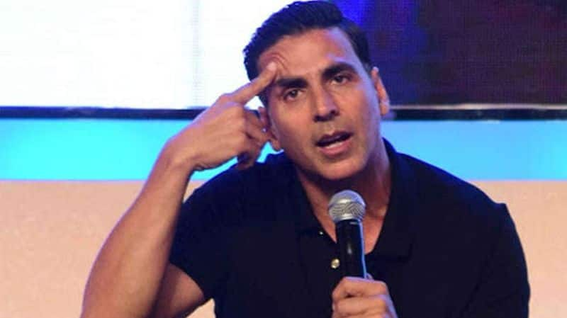 Im an actor not a teacher Akshay Kumar reacts to questions on Bollywood normalising illtreatment of women