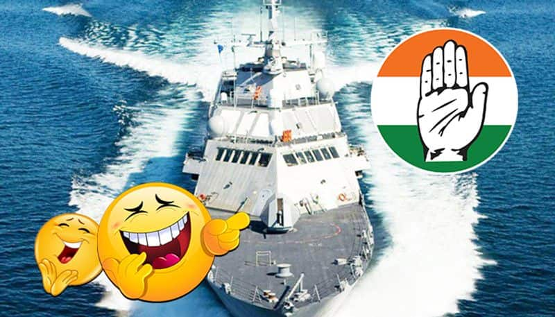 Congress posts US Navy ship picture to wish on Indian Navy Day