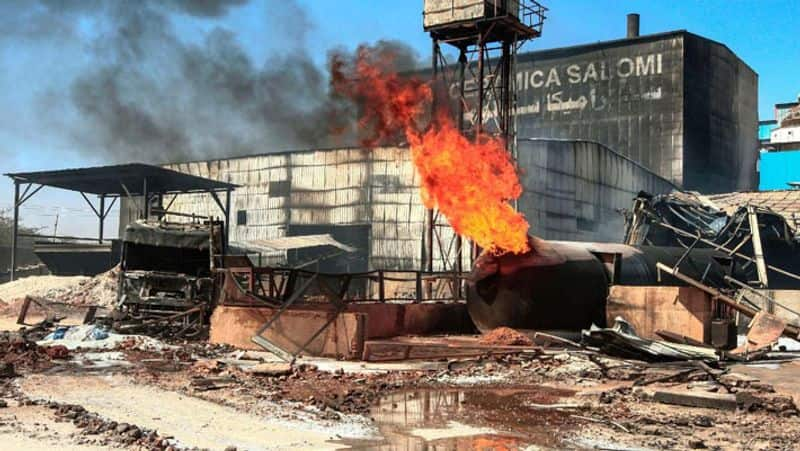 Sudan factory fire...Indians among 23 people killed
