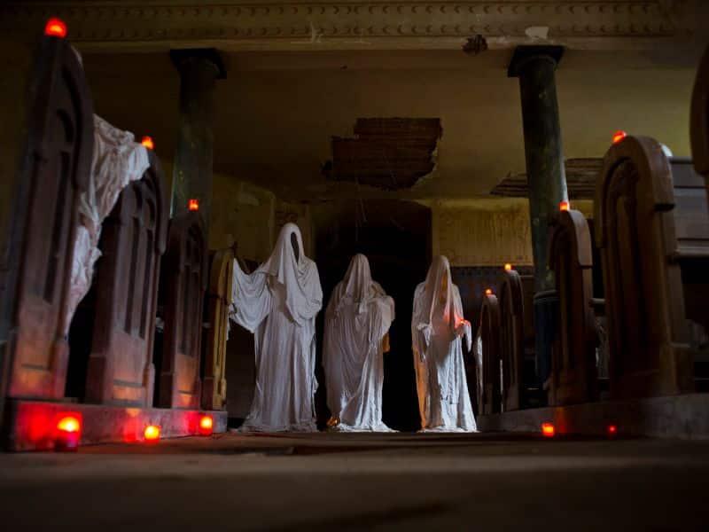 ghosts church in  Lukova