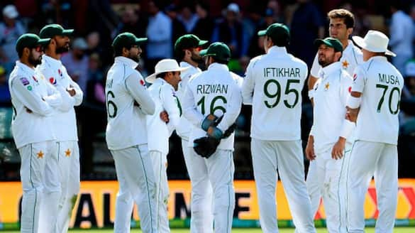 zimbabwe all out for just 132 runs in first innings of second test against pakistan