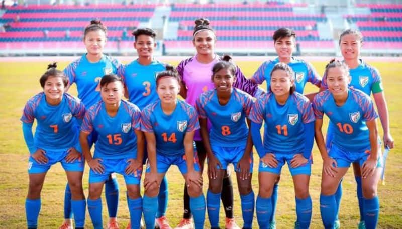 Indian Women football team thrashed Sri Lanka by 6-0 in the South Asian Games