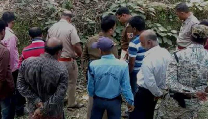 Burned body of a young lady found in Malda