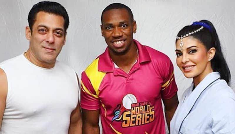 Jamaican sprint star Yohan Blake meets Bollywood stars Salman Khan, Jacqueline Fernandez