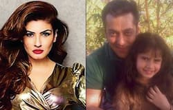 Raveena Tandon and Salman Khan